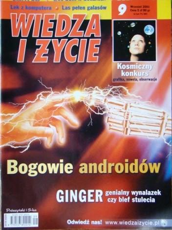 Okładka książki Wiedza i Życie 2001/9 (801)