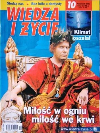 Okładka książki Wiedza i Życie 2001/10 (802)