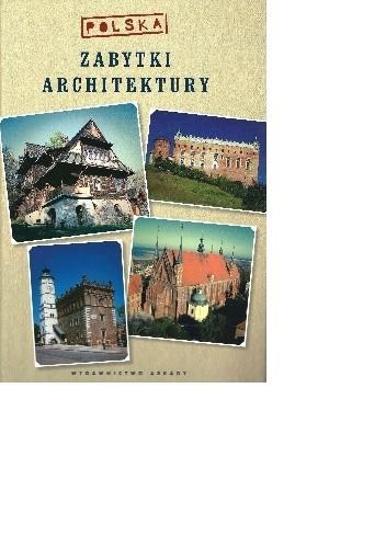 Okładka książki Zabytki architektury- Polska