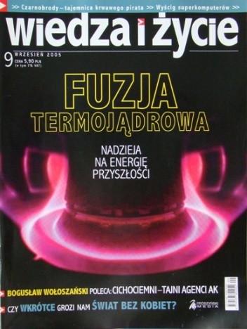 Okładka książki Wiedza i Życie 2005/9 (849)