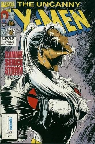 Okładka książki X-Men 11/1995