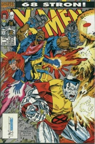 Okładka książki X-Men 12/1995