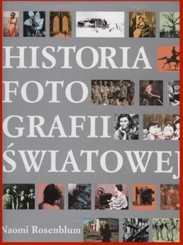 Okładka książki Historia fotografii światowej