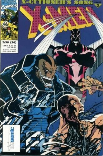 Okładka książki X-Men 2/1996
