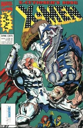 Okładka książki X-Men 3/1996