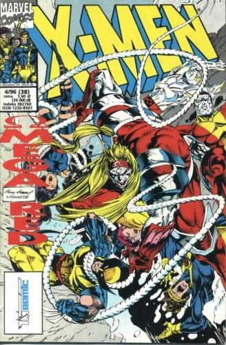 Okładka książki X-Men 4/1996