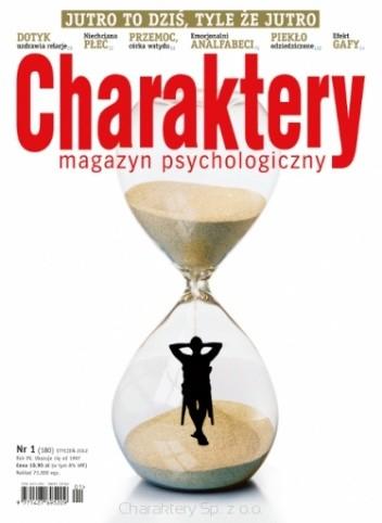 Okładka książki Charaktery, nr 1 (180) / styczeń 2012