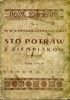 Okładka książki Sto potraw z ziemniaków
