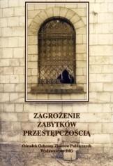 Okładka książki Zagrożenie zabytków przestępczością