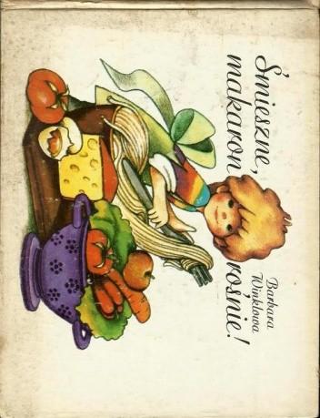 Okładka książki Śmieszne, makaron rośnie!