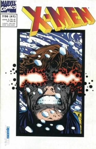 Okładka książki X-Men 7/1996