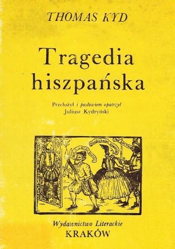 Okładka książki Tragedia hiszpańska