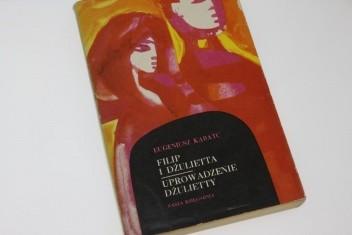 Okładka książki Filip i Dżulietta. Uprowadzenie Dżulietty