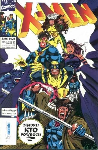 Okładka książki X-Men 8/1996