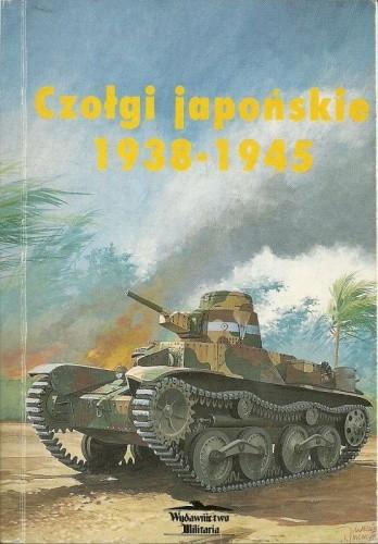 Okładka książki Czołgi japońskie 1938-1945