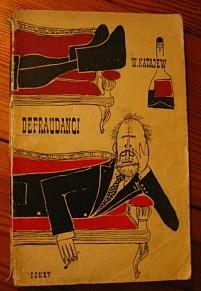 Okładka książki Defraudanci