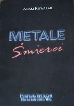 Okładka książki Metale śmierci