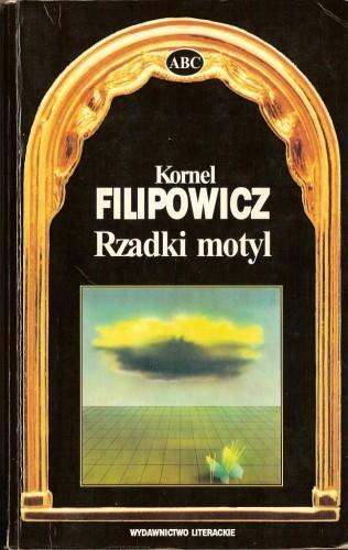Okładka książki Rzadki motyl