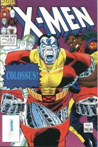 Okładka książki X-Men 11/1996