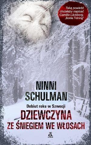 Okładka książki Dziewczyna ze śniegiem we włosach
