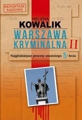 Okładka książki Warszawa kryminalna II