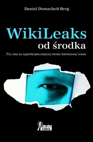 Okładka książki WikiLeaks od środka