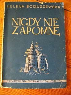 Okładka książki Nigdy nie zapomnę