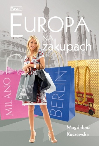 Okładka książki Europa na zakupach