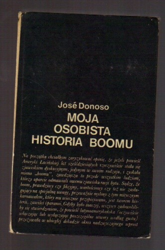 Okładka książki Moja osobista historia boomu