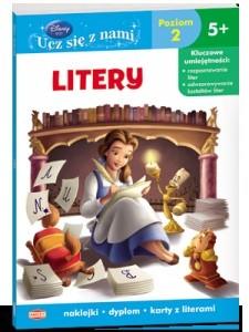 Okładka książki Disney. Księżniczka. Litery