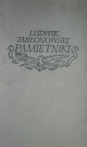 Okładka książki Pamiętniki
