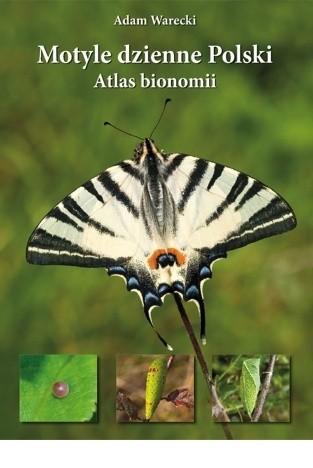 Okładka książki Motyle dzienne Polski. Atlas bionomii