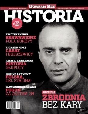Okładka książki Uważam Rze. Historia, nr 1 / kwiecień 2012