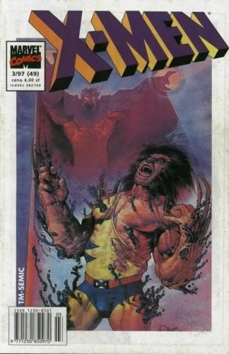 Okładka książki X-Men 3/1997