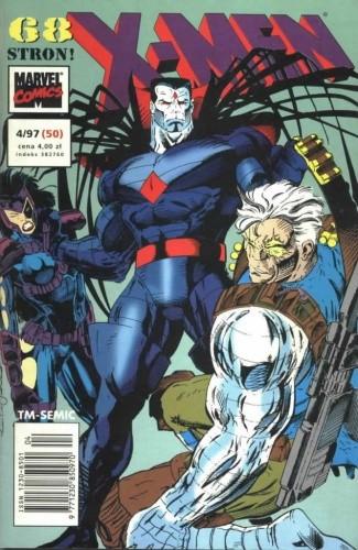 Okładka książki X-Men 4/1997