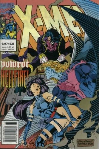 Okładka książki X-Men 6/1997
