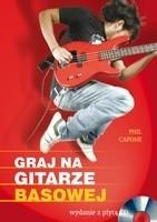 Okładka książki Graj na gitarze basowej