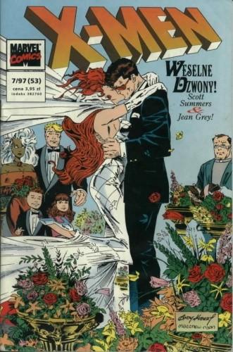 Okładka książki X-Men 7/1997