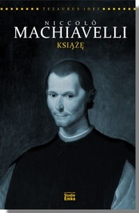 Okładka książki Niccolò Machiavelli. Książę