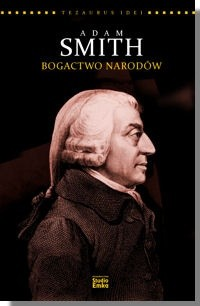 Okładka książki Adam Smith. Bogactwo narodów