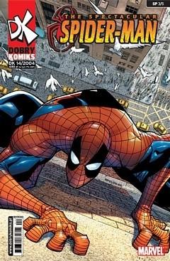Okładka książki Spectacular Spiderman #3