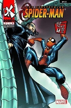 Okładka książki Spectacular Spiderman #5