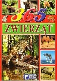Okładka książki 365 zwierząt