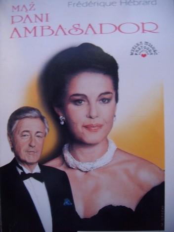 Okładka książki Mąż pani ambasador