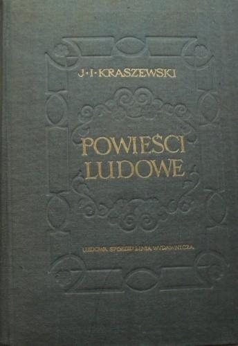 Okładka książki Powieści ludowe t. I