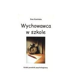 Okładka książki Wychowawca w szkole
