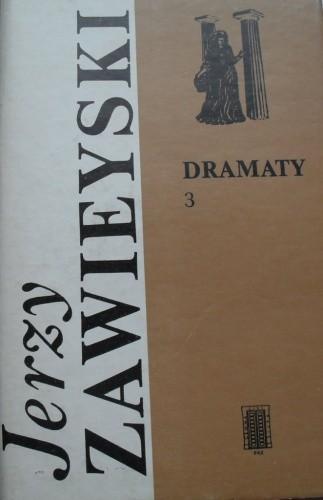 Okładka książki Dramaty 3.