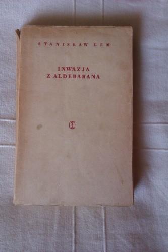 Okładka książki Inwazja z Aldebarana