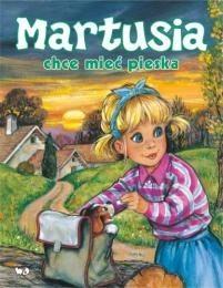 Okładka książki Martusia chce mieć pieska