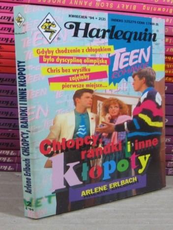 Okładka książki Chłopcy, randki i inne kłopoty